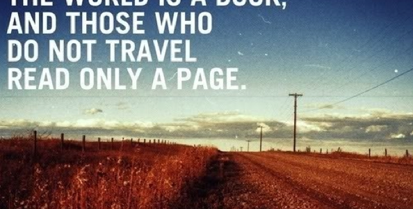 travel inspiration quote