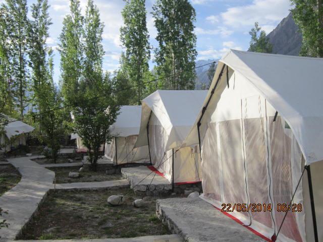 tent house nubra valley
